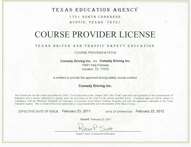 Houston Defensive Driving Texas Defensive Driving