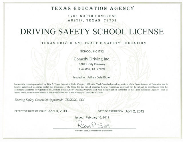 Houston Defensive Driving - Texas Defensive Driving